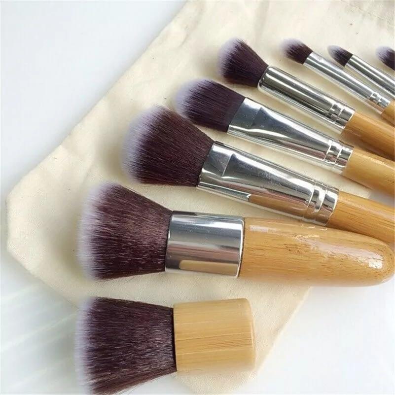 ecofworld - bamboo makeup brushes