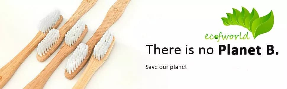 ecofworld bamboo toothbrush with soft and medium bristles for Adults ush bamboo toothbrush, bamboo toothbrush for babies, bamboo toothbrush dentist approved, bamboogaloo toothbrush, humble bamboo, zero brush toothbrush, curanatura toothbrush, bamboo toothbrush market