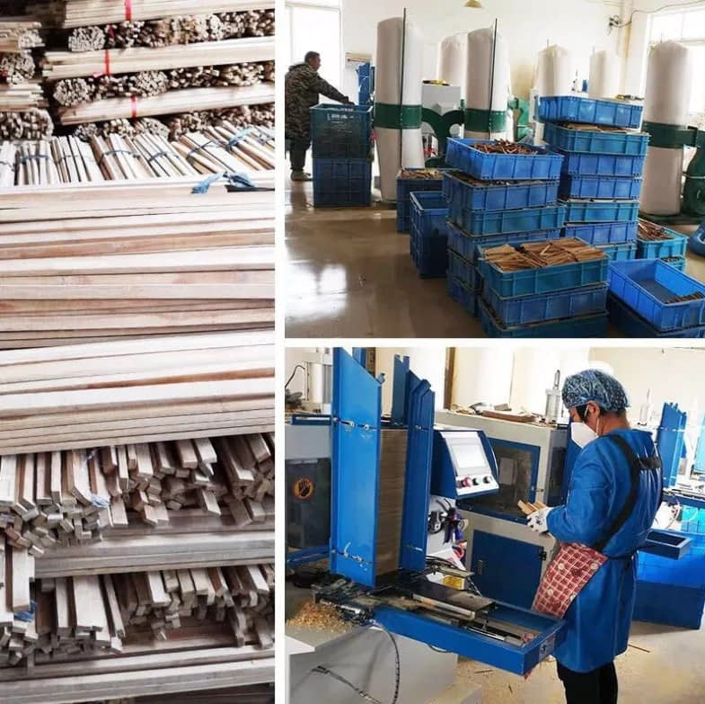 ecofworld manufacturing unit in China bamboo toothbrush factory