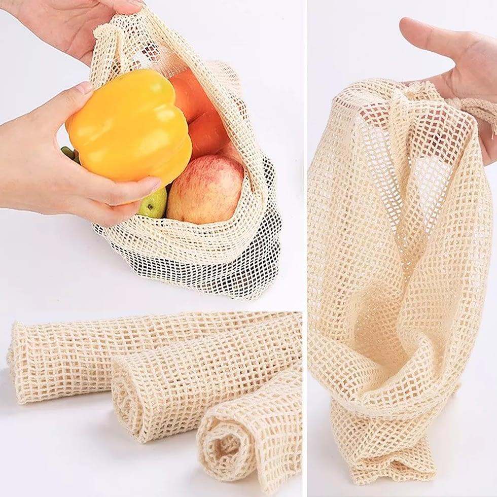 ecofoworld - reusable produce bags