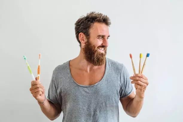 ecofworld - toothbrush made of wood, nordics toothbrush, boo boo toothbrush, best bamboo toothbrush