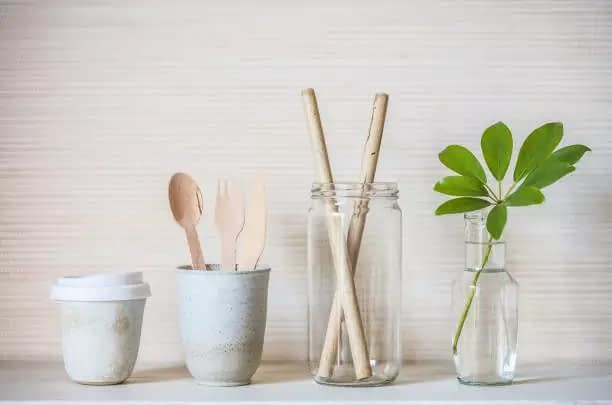 bamboo straws eco friendly cutlery sets