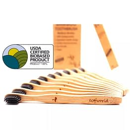 zero-waste environment friendly bamboo brush